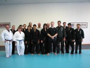 Seminar at Kim's Hapkido, San Dimas